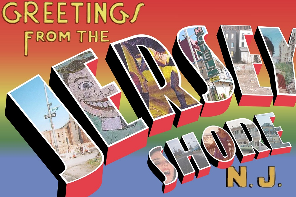 Greetings from the jersey shore postcard philip jia design greetings from the jersey shore postcard m4hsunfo